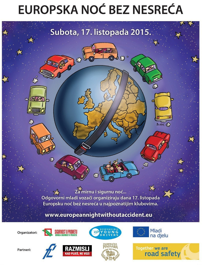 europska noć bez nesreća
