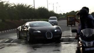 Veyron protiv ležećeg policajca