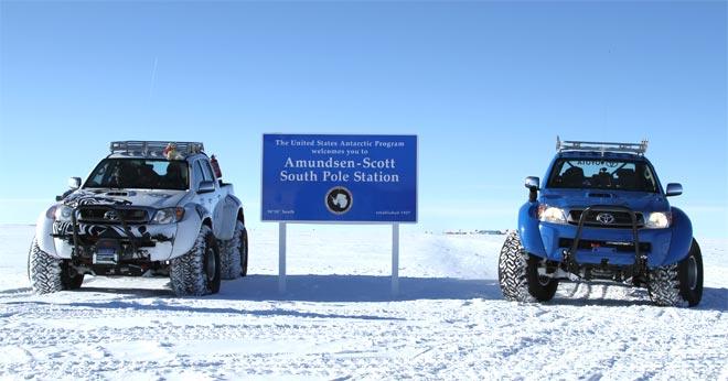 Toyota Hilux u polarnom istraživanju