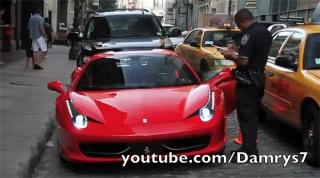 Nemojte Ferrarijem prijeći policajcu preko noge