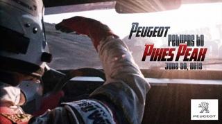 Peugeot i Sebastien Loeb na Pikes Peaku