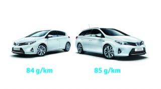 Toyota Auris Hibrid s emisijom CO2 84g/km