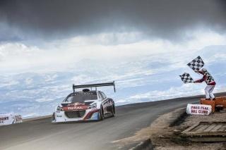 Sebastien Loeb s Peugeotom 208 T16 Pikes Peak postavio novi rekord utrke Pikes Peak!