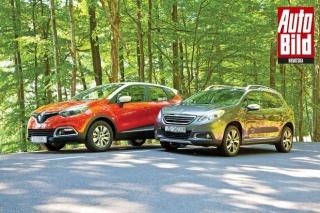 Usporedba: Renault Captur i Peugeot 2008