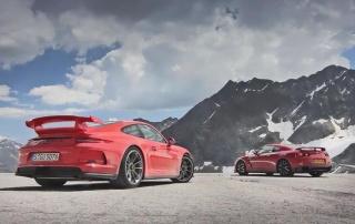 Porsche 911 GT3 protiv Nissan GT-R-a i McLarena MP4-12C
