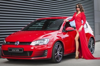 Volkswagen Golf GTD za Dreft Fashion Week Zagreb