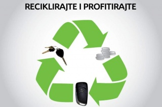 """Citroen prodajna akcija """"Reciklirajte i profitirajte"""""""