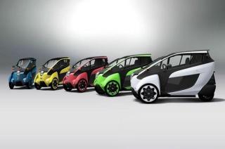 Kompaktno električno vozilo i-ROAD na testu