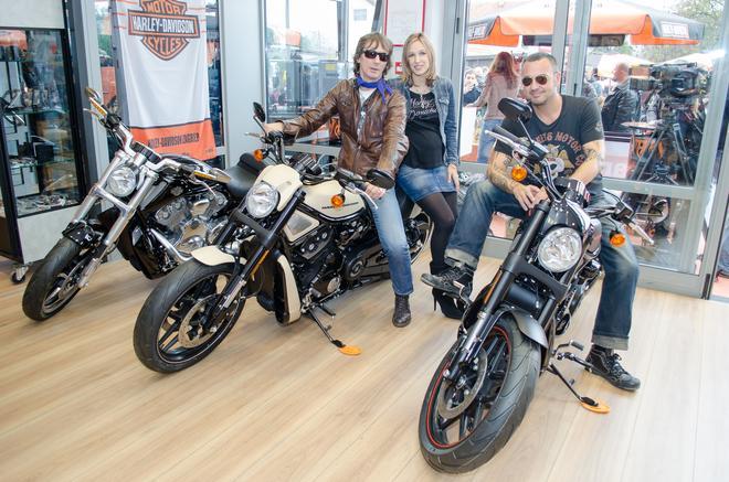 Sandi Cenov i Davor Gobac isprobali nove modele Harley-Davidsona