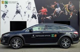 Peugeot postao partner teniskog turnira Paris Bercy BNP PARIBAS MASTERS 1000 Open