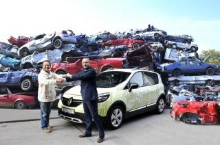 """Renault Nissan Hrvatska i udruga """"Zelene stope"""" nastavljaju akciju """"Očistimo Hrvatsku od olupina"""""""