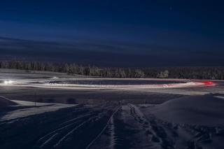 Testiranje guma u Arktičkom centru
