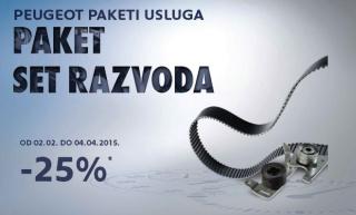 Paketi servisnih usluga Peugeot