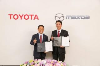 Toyota i Mazda u novom partnerstvu