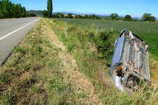 Izlijetanje vozila s ceste