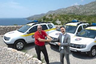 Dacia - Pozdan partner Hrvatske gorske službe spašavanja