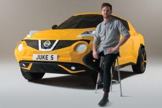 Nissan Juke: Origami automobil u prirodnoj veličini