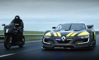 Renaultov policijski presretač u akciji