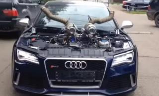 Grmljavima 1.100 + KS - Audi RS7