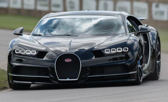 Bugatti Chiron: vožnja u radikalnom serijskom automobilu