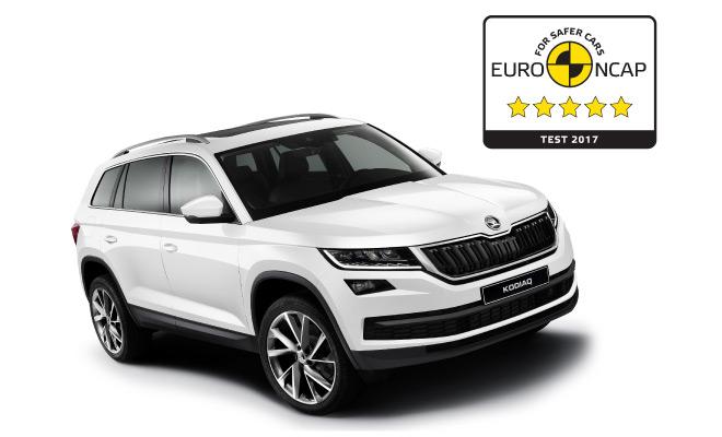 Škoda Kodiaq postigao najbolju ocjenu od 5 zvjezdica na Euro NCAP ispitivanju