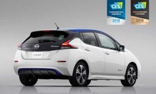 Novi Nissan LEAF osvojio je svoju prvu međunarodnu nagradu