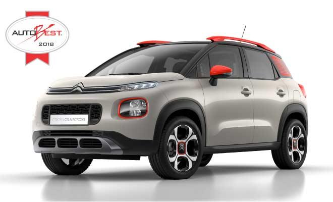 Novi kompaktni SUV Citroën C3 AIRCROSS osvojio nagradu Autobest 2018
