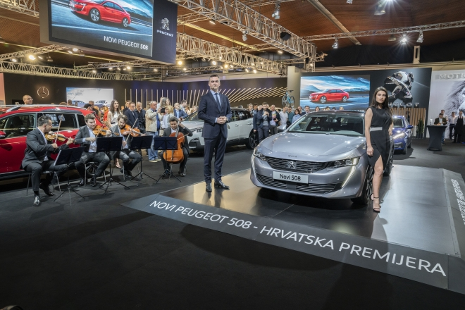 Novi Peugeot 508 - hrvatska premijera na Zagreb Auto...
