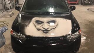 Biste li ukrasili ovako svoj automobil? Crteži s termokromatskom bojom sve su veći hit