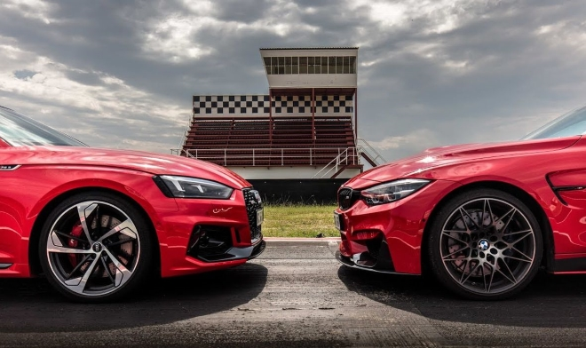 AUDI RS5 vs BMW M4 Competition