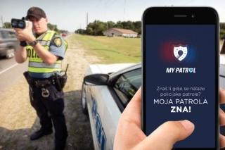 """Trenutno najpopularnija aplikacija u Hrvatskoj – 30.000 preuzimanja aplikacije """"Moja Patrola"""""""