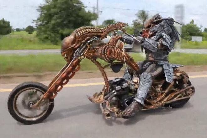 Još trljamo oči, pogledajte Predatora na prometnicama Tajlanda!