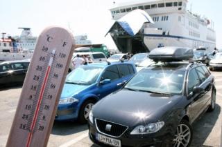 Auti parkirani na suncu već za sat mogu biti opasni po život