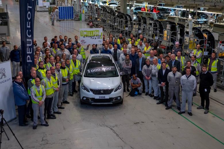 Milijunti SUV Peugeot 2008 izašao s proizvodne linije u Mulhouseu !