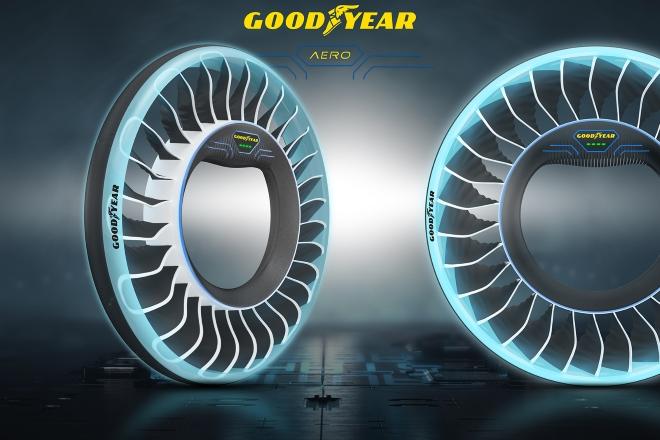 Predstavljena Goodyearova konceptna guma AERO za autonomna leteća vozila budućnosti