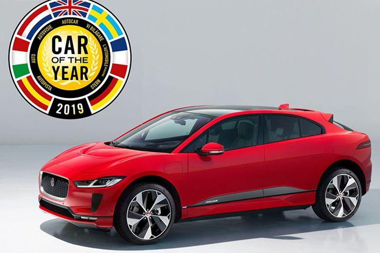 Električni Jaguar I-PACE proglašen Europskim automobilom...
