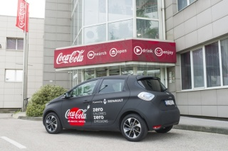 Suradnja Renaulta i Coca-Cole: Zero calories, zero emission