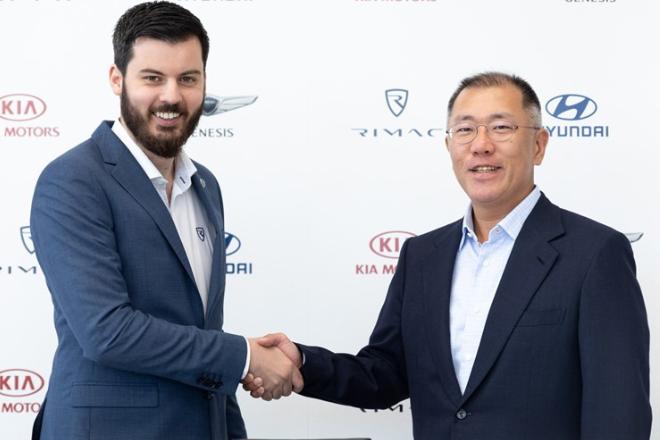 Hyundai i Kia investiraju 600 milijuna u Rimac Automobile