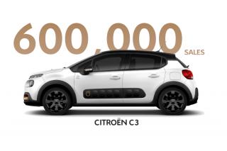 Prodano 600 000  CITROËN C3 u manje od 30 mjeseci