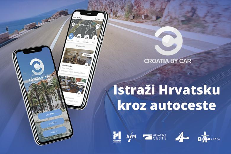 """""""Croatia by Car"""" novi vodič i aplikacija za..."""