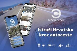 """""""Croatia by Car"""" novi vodič i aplikacija za ugodnije prometovanje hrvatskim autocestama"""