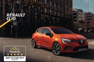 Novi RENAULT CLIO proglašen je najsigurnijim gradskim automobilom na testiranjima EURO NCAP-a