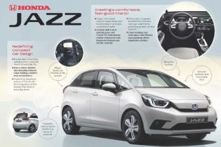 Nova Honda Jazz – pametna dizajnerska rješenja
