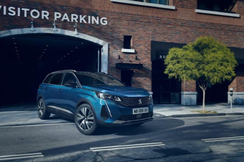 Novi SUV Peugeot 5008