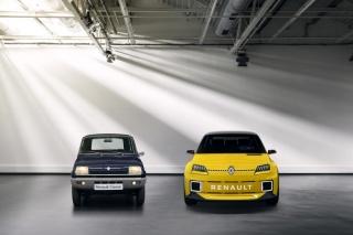 Renault 5 Prototype, prednja svjetla koja vam namiguju