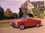 Peugeot 204 Cabriolet Rouge