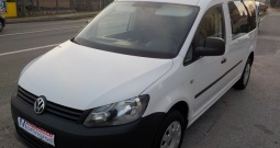 VW Caddy Maxi 1,6 tdi,5 sjedala,100% ODBITAK PDV-A,MODEL 2012