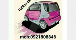 Rent a SMART 100kn/dan (RENT A CAR BEZ POLOGA)