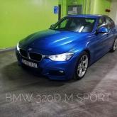 BMW 320d M paket - 135kw automatik