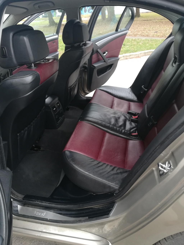 BMW 520 D,  redizajn, registriran godinu dana
